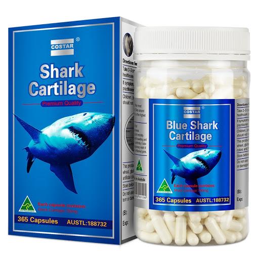 Sụn Cá Mập AuGoldHealth Shark Cartilage-1