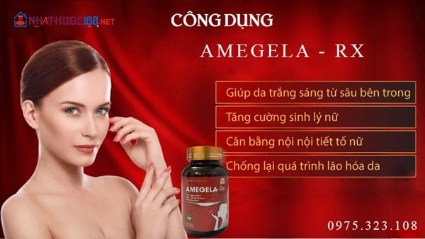 Tác dụng của Amegela Rx là gì?