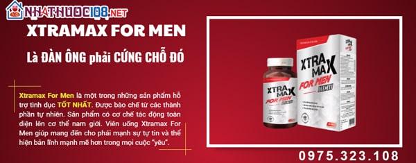 Viên uống Xtramax For Men là gì?