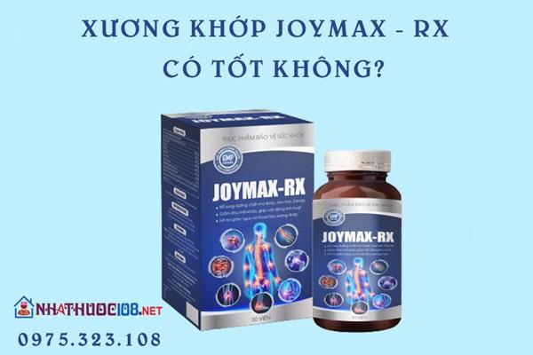 Việc sử dụng Joymax Rx có tốt không?