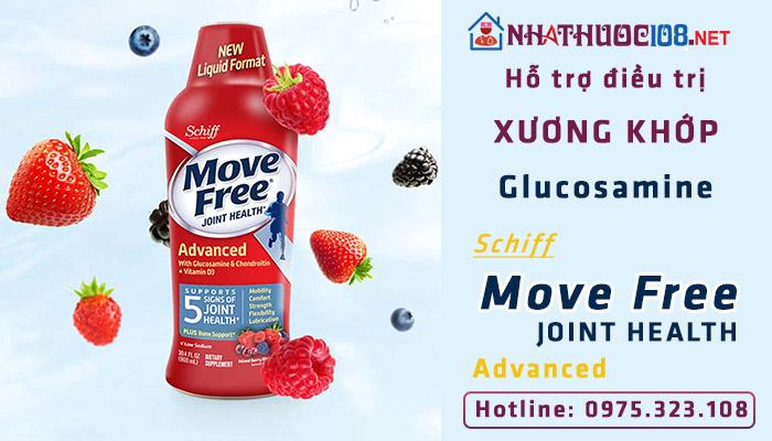 Hỗ trợ điều trị xương khớp Glucosamine Schiff Move Free Advanced