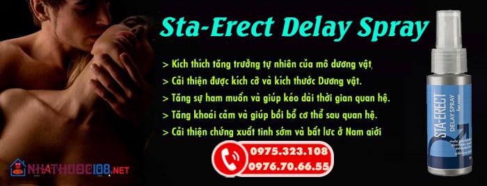 Sta-Erect Delay Spray