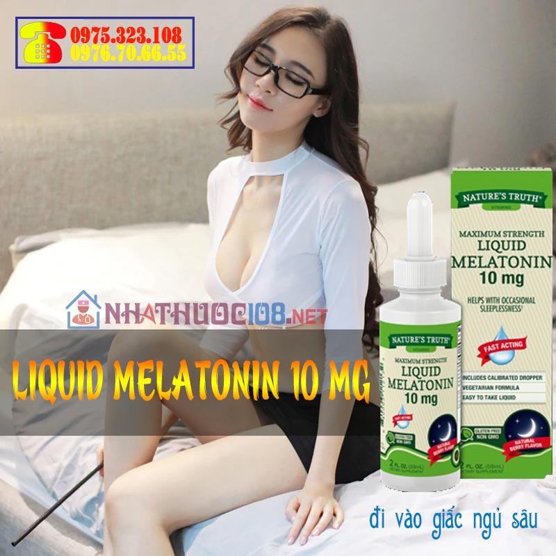 Liquid Melatonin 10 mg