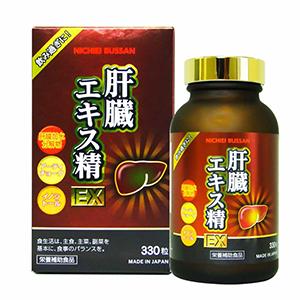 Nichiei Bussan Liver Extract Sperm EX sản phẩm