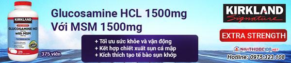 Viên uống bổ khớp Glucosamine HCL