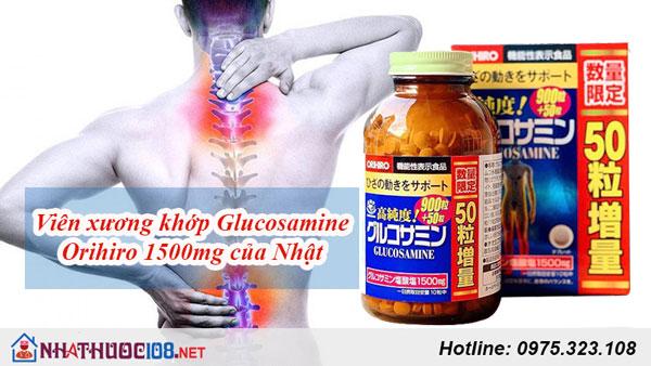 Viên uống bổ khớp Glucosamine Orihiro 1500mg