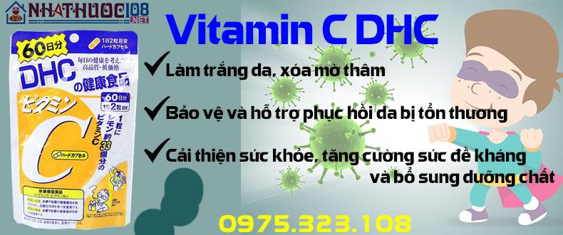 DHC Vitamin C công dụng