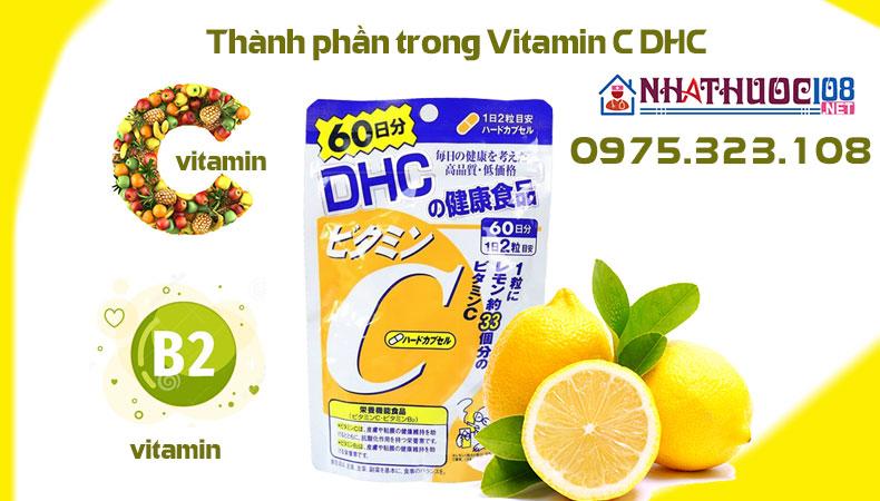 DHC Vitamin C thành phần