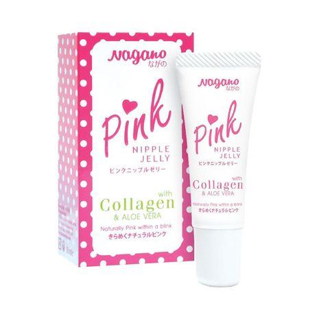 Kem làm hồng nhũ hoa nagano pink nipple jelly