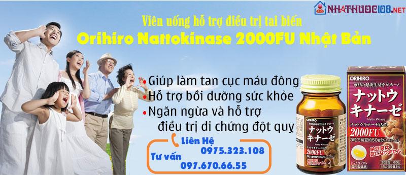 Nattokinase  công dụng